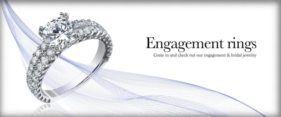 Engagement Rings - Come in to view our Engagement and Bridal Jewelry.